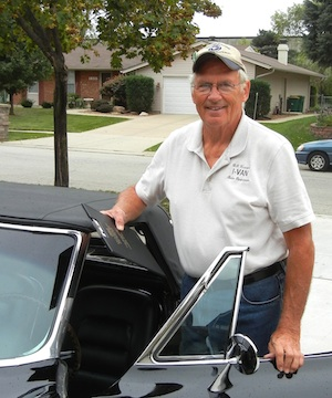 Bill Krieger and his 1965 Vette