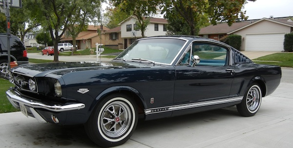 I appraise classic cars like this 1965 Mustang.